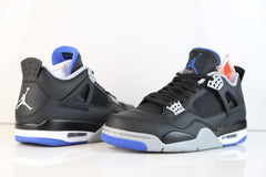 Nike Air Jordan Retro 4 Black Royal Blue Alternate Motorsports 2017