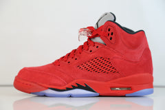 Nike Air Jordan Retro 5 Suede University Fire Red (Raging Bull) 2017 PRE ORDER Adult and GS (NO Codes)