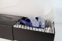Nike Lab Benassi X Pigalle Duo Ultra Slide Loyal Blue Royal White 902783-400 (NO Codes)