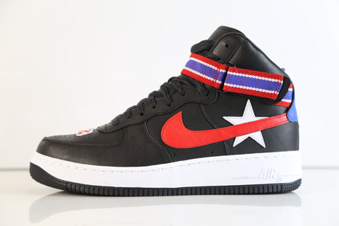 Nike Air Force 1 Hi RT Ricardo Tisci Black Red AQ3366-001 (NO Codes)