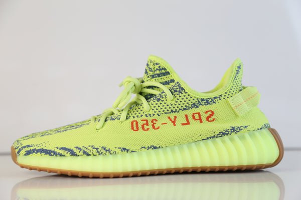 Adidas Yeezy by Kanye West Boost 350 V2 Yebra Semi Frozen Yellow Red B37572 2018 - PRE ORDER