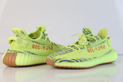 Adidas Yeezy by Kanye West Boost 350 V2 Yebra Semi Frozen Yellow Red B37572 2018 - BONUS