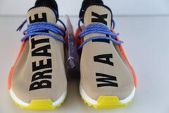 Adidas X PW Pharrell Williams NMD HU Race Pale Nude Black Yellow AC7361 (NO Codes)