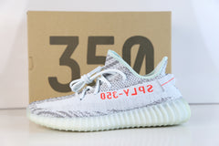 Adidas Yeezy By Kanye West Boost 350 V2 Blue Tint Grey Three High Res Red B37571