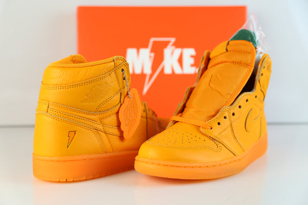 ... Nike Air Jordan Retro 1 High OG G8RD Gatorade Orange Peel AJ5997-880  Adult and ... 19ee26646