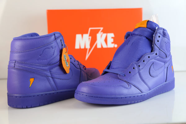 d1f9da172005 ... Nike Air Jordan Retro 1 High OG G8RD Gatorade Grape Rush Violet  AJ5997-555 ...