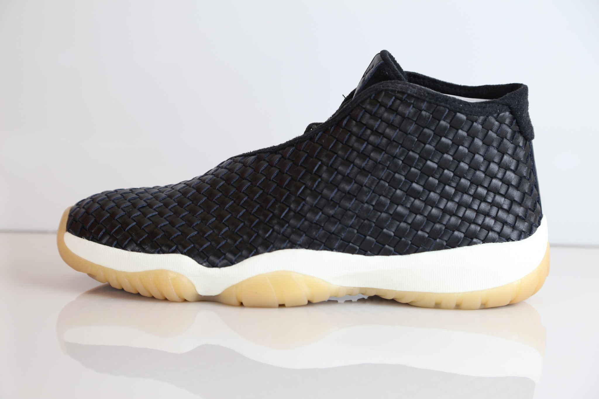 new styles dab09 58f29 Nike Air Jordan Future Premium Leather Black Gum Sail 652141-019    Zadehkicks