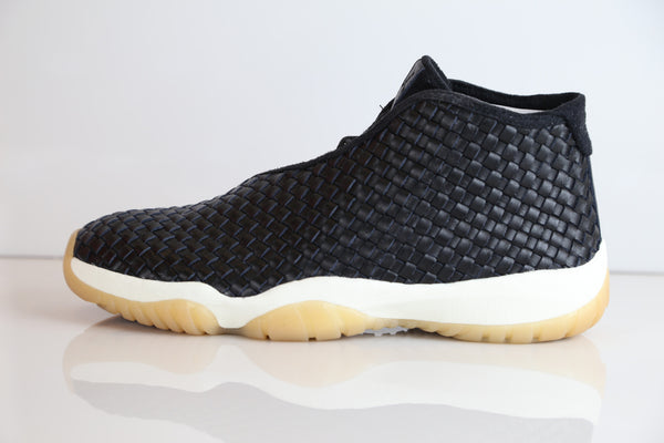 Nike Air Jordan Future Premium Leather Black Gum Sail  652141-019