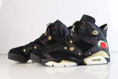 Nike Air Jordan Retro 6 PRM CNY Chinese New Year 2018 AA2492-021 Adult and GS (NO Codes)