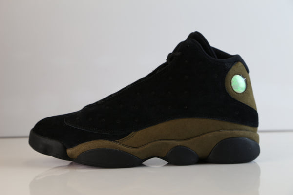 Nike Air Jordan Retro 13 Light Olive Black True Red 414571-006 2018 Adult and GS PRE ORDER (NO Codes)