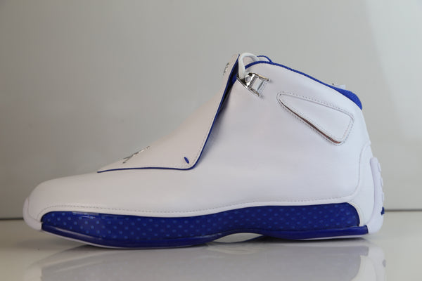 Nike Air Jordan Retro 18 White Sport Royal 2018 AA2494-106