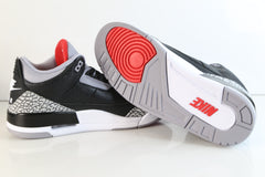 Nike Air Jordan Retro 3 OG Black Cement Nike Air 854262-001 Adult and GS