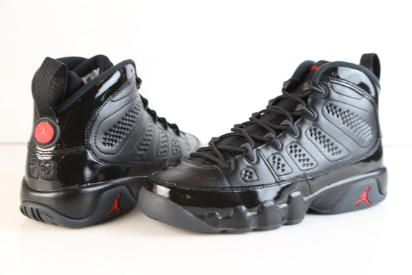 79813f70b5d ... Nike Air Jordan Retro 9 Bred Black Anthracite University Red 302370-014  Adult and GS