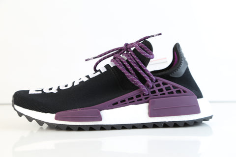 wholesale dealer 26581 f4f8d Adidas PW Pharrell Williams HU Human Race NMD HOLI MC Core Black Purple  AC7033