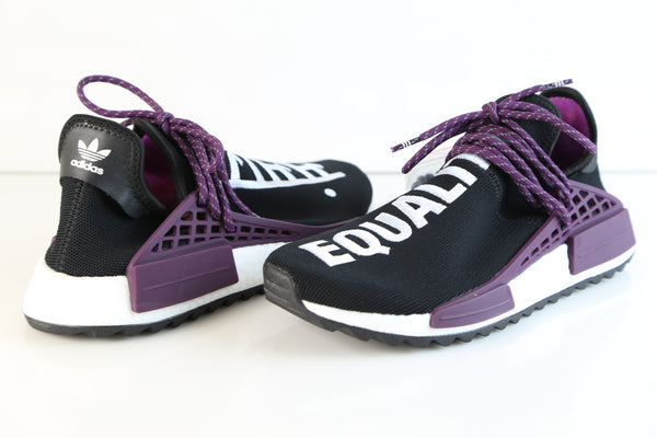21654fe55dae9 ... Adidas PW Pharrell Williams HU Human Race NMD HOLI MC Core Black Purple  AC7033 ...