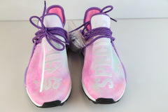 Adidas PW Pharrell Williams HU Human Race NMD HOLI MC Pink Glow Flash Green AC7362
