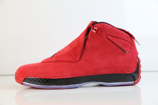 Nike Air Jordan Retro 18 Toro Gym Red Black 2018 AA2494-601