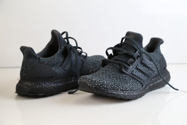 huge discount 1ce47 6c193 Adidas Ultra Boost Clima Cool Carbon Triple Black Orchid Tint CQ0022 ...