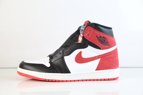 Nike Air Jordan Retro 1 High OG 6 Rings Track Red 555088-112