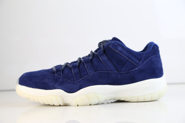 uk availability f8dbe 0d02f Nike Air Jordan Retro 11 Low Jeter RE2PECT Binary Blue Suede ...