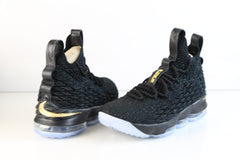 Nike Lebron XV LMTD Black Metallic Gold 897648-006