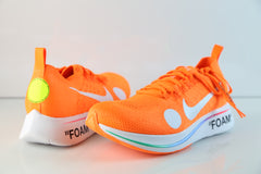 Nike Off-White Virgil Abloh Zoom Fly Mercurial FK Total Orange Volt AO2115-800