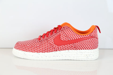 Nike Lunar Force 1 Low X Undefeated University Red Jcrd 652805-660