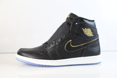 Nike Air Jordan Retro 1 High LA All Star Black Gold 2018 555088-031