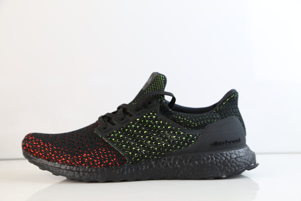 Adidas Ultra Boost Clima Cool Black Glow Solar Red AQ0482
