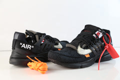 Nike Air Presto Off-White Virgil Abloh Black White AA3830-002 2018