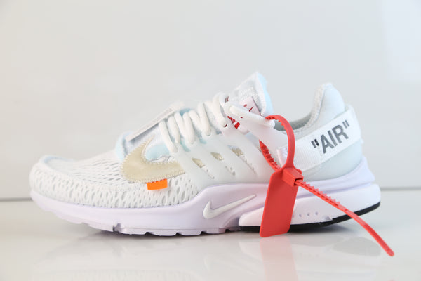 Nike Air Presto Off-White Virgil Abloh White Black AA3830-100 2018