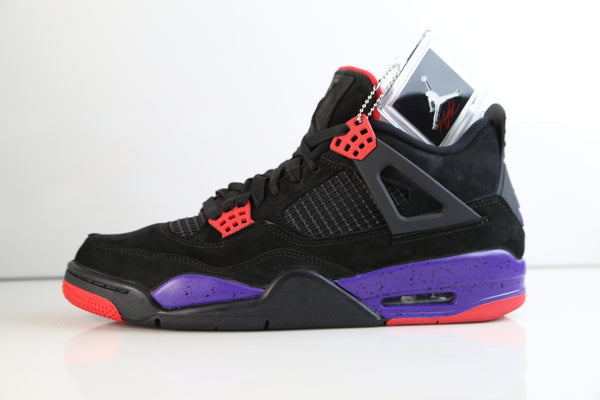 Nike Air Jordan Retro 4 NRG Raptors Black University Red Court Purple AQ3816-065
