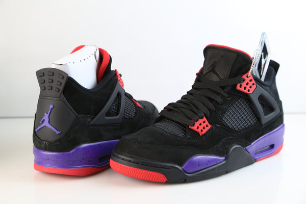 fad4654fb26 ... canada nike air jordan retro 4 nrg raptors black university red court  purple aq3816 065 0fc99 ...