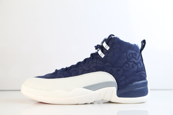 Nike Air Jordan Retro 12 College Navy Sail University Red International 130690-445