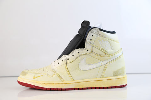 Nike Air Jordan Retro 1 High OG NRG Nigel Sylvester Sail Red BV1803-106