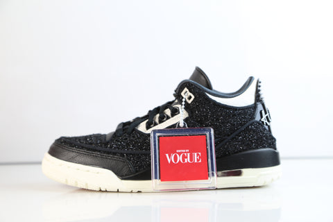 Nike Womens Air Jordan Retro 3 RTR SE NRG Vogue AWOK Black White BQ3195-001