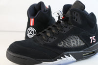 Nike Air Jordan Retro 5 BCFC Paris Saint-German PSG Black Red AV9175-001
