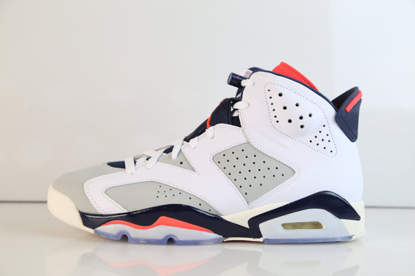 Nike Air Jordan Retro 6 Tinker White Infrared 384664-104