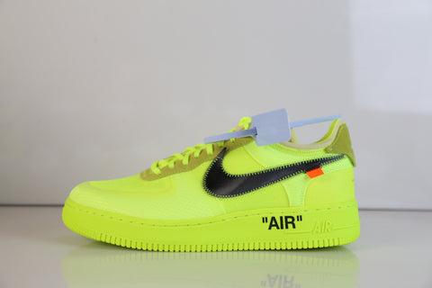 Nike Off-White Virgil Abloh Air Force 1 Low Volt Cone Black A04606-700