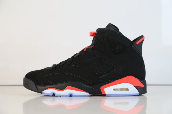 Nike Air Jordan Retro 6 OG Black Infrared 2019 384664-060 Adult and GS