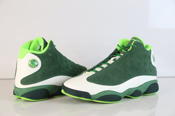 Nike Air Jordan Retro 13 US Oregon Promo Apple Green Deep Forest AR4390-313 NEW size 11 (SOLD)