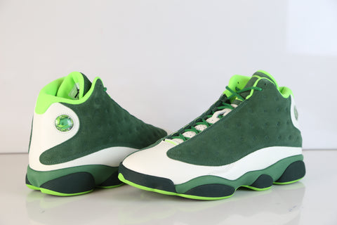 fc539d9180044f Nike Air Jordan Retro 13 US Oregon Promo Apple Green Deep Forest AR4390-313  NEW