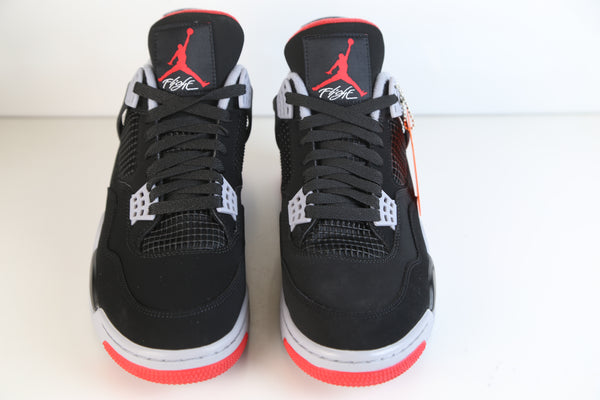 008c5fa89a0fc2 ... Nike Air Jordan Retro 4 Bred OG 30th Black Red Adult and GS PRE ORDER  ...