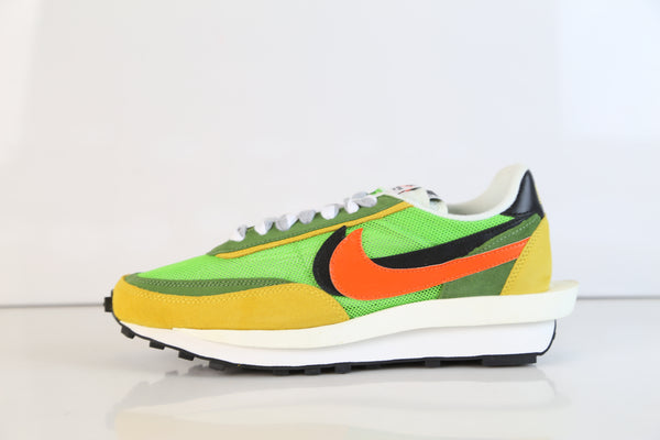 Nike X Sacai LVD Waffle Green Gusto Safety Orange BV0073-300