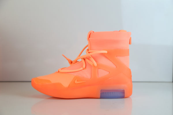 Nike X Fear of God Air 1 Orange Pulse 2019 AR4237-800