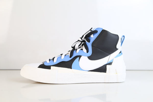 Nike X Sacai Blazer Mid Black White University Blue BV0072-001