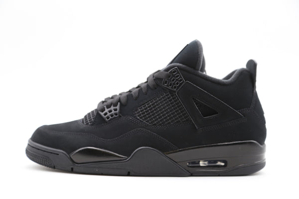 Nike Air Jordan Retro 4 Black Cat Light Graphite 2020 CU1110-010