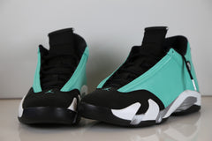 Custom Jordan Retro 14 Tiffany - size 10 completed custom ready to ship