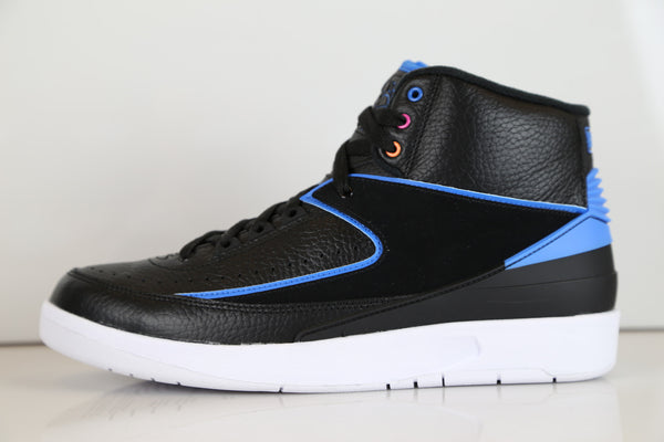 Nike Air Jordan Retro 2 Radio Raheem Black Pink Blue 834274-014 Adult and GS
