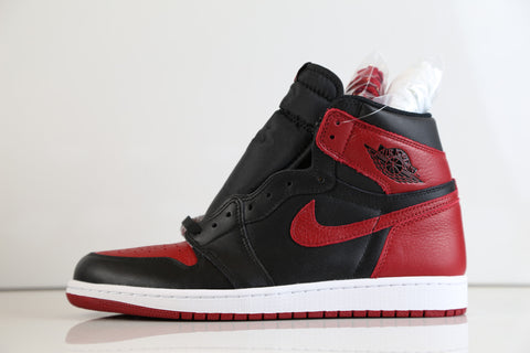 Nike Air Jordan Retro 1 Bred Banned 2016 555088-001 Adult and GS Kids sizes 517a9e256
